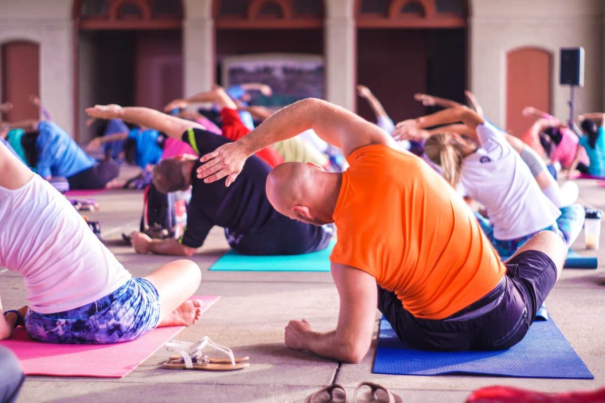 yoga hardlopen